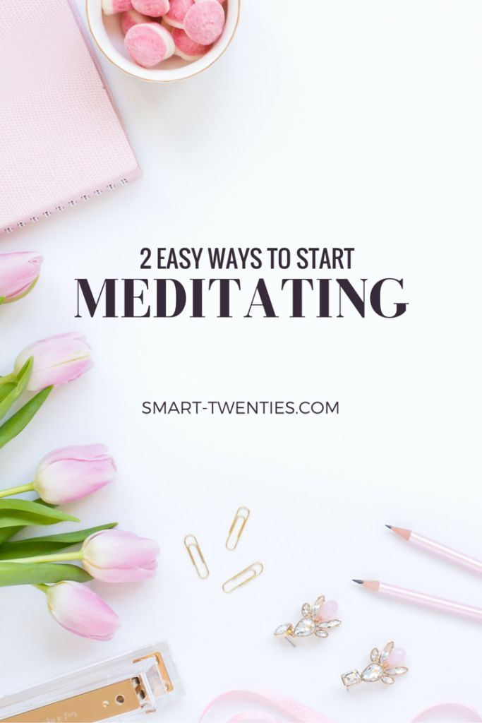 I share my best tips on how to start meditating and why you can do it even if you 'think too much' (because you're not the only one with that problem)