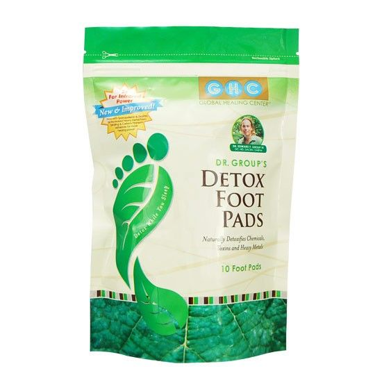 Dr. Group's Detox Foot Pads - I want to try these...By tapping into 60 acupuncture points located on the soles of your feet, Dr. Group's Detox Foot Pads® are designed to promote the natural detoxification of chemicals, toxins, and toxic metals from your body. Contains 10 patches for a 5-day cleanse.