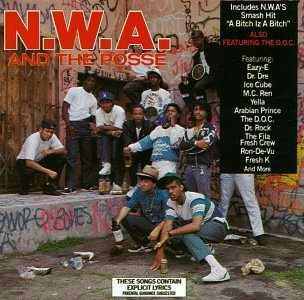 Know your hip hop history. NWA and the Posse. Dallas and L.A. made history. I bought this on cassette back in 88 because of the Fila Fresh Crew lol shout out to the legend Dr Rock.
