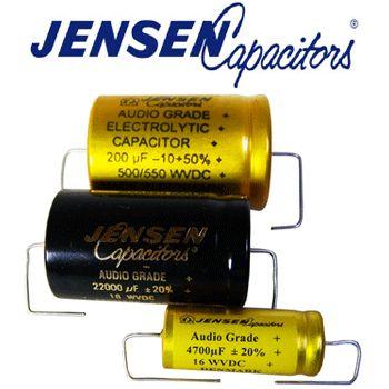 Jensen Axial Electrolytic Capacitors