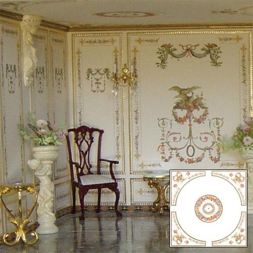 Luxury Dollhouse Wallpaper
