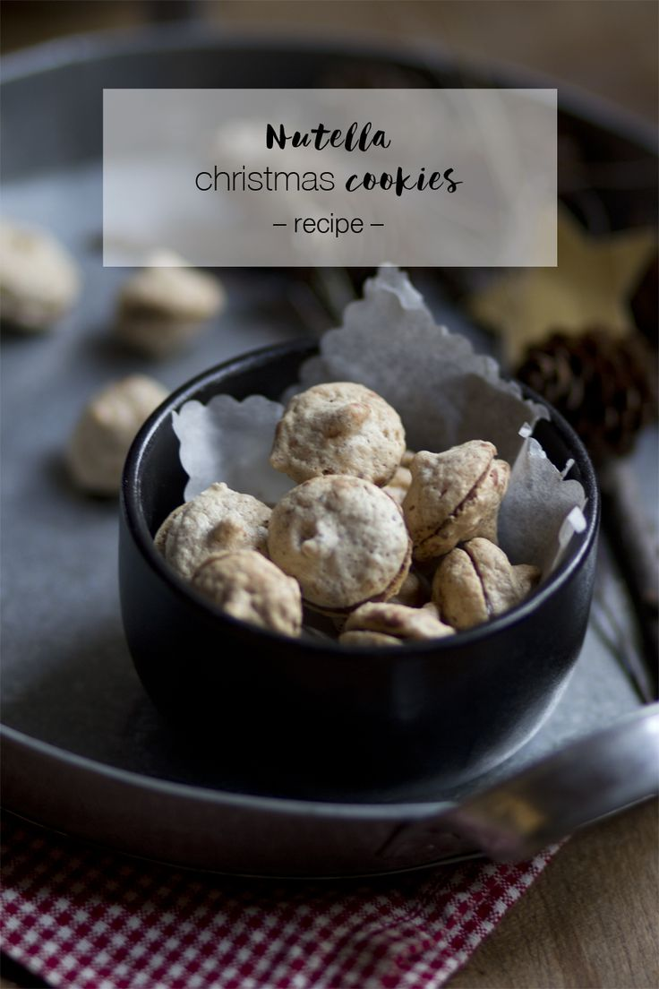 Nutella christmas cookies recipe | LOOK WHAT I MADE ...