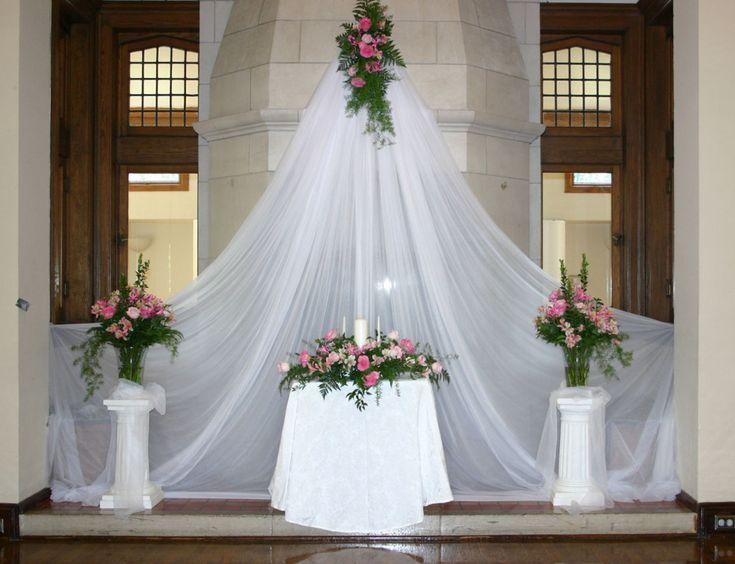 Best 25 wedding altar decorations ideas on pinterest for Altar decoration wedding