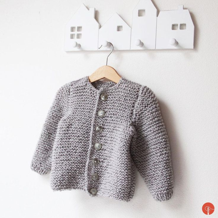 Kids knitted clothes is so adorable. I really like how fast itcan be made. This fluffy cardigan was made for baby which is still waiting in mommy's tummy. A few pics of process… Buttons counting… Still without the buttons. Finally finished hand knitted kids cardigan:
