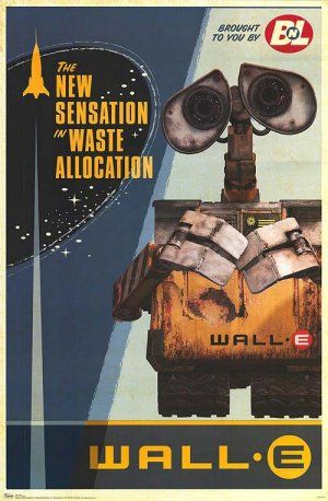 WALL·E poster. #space #robots #curiosity