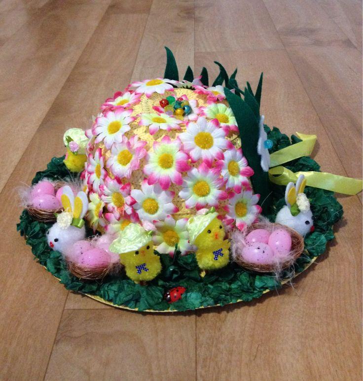 School Easter Bonnet Parade craft!