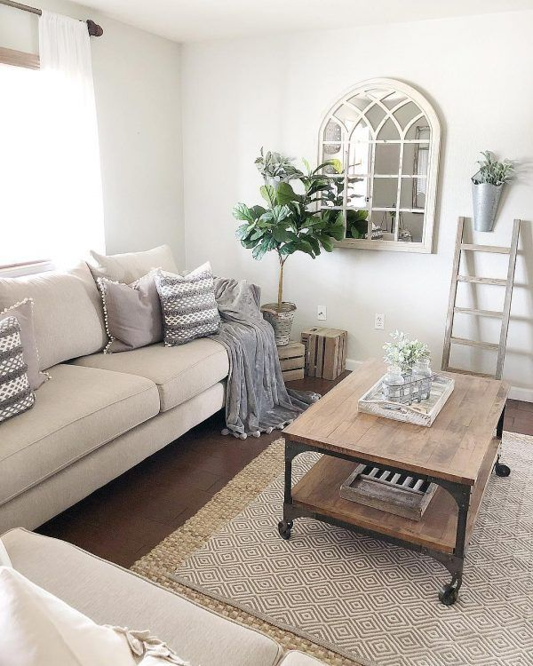 100 Charming Farmhouse Living Room Ideas To Try At Home Farm House Living Room Farmhouse Decor Living Room Rugs In Living Room