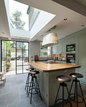 Whistler Street - traditional - Kitchen - London - Chris Dyson Architects