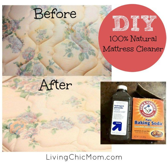 DIY 100% All Natural Mattress Stain Removing Spray :http://livingchicmom.com/diy-100-natural-mattress-stain-removing-spray/