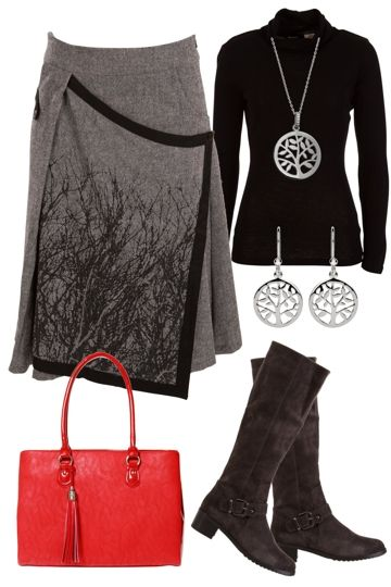Winter Chic Outfit includes My Best Friend Is A Bag, Najo, and jham - Birdsnest Online