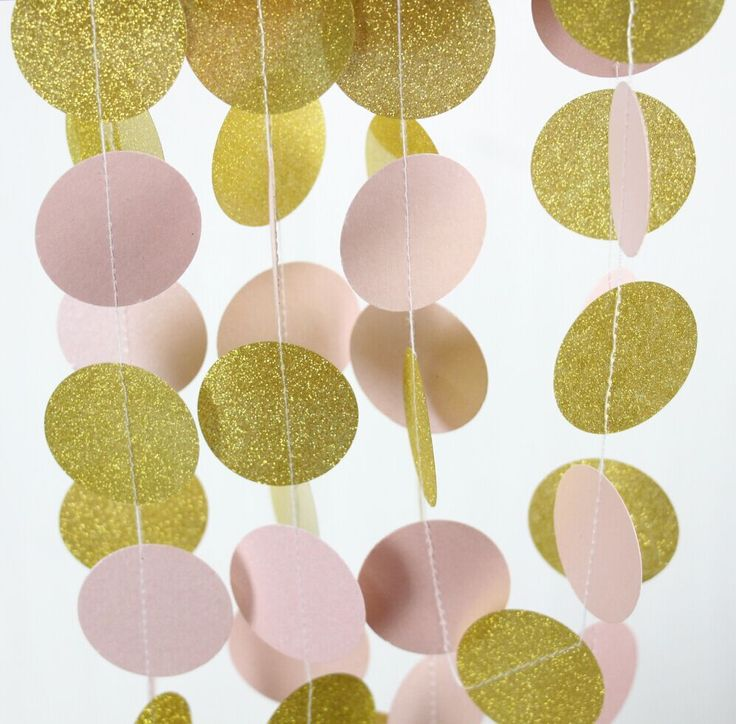 Goedkope 1.5 meter roze en goud glitter garland bruiloft decoratie, koop Kwaliteit Event& party benodigdheden rechtstreeks van Leveranciers van China: 20g Gold glitter, light pink white , paper confettiUSD 4.90/packModern Christmas Party Decorations, - Merry & Bright Hol