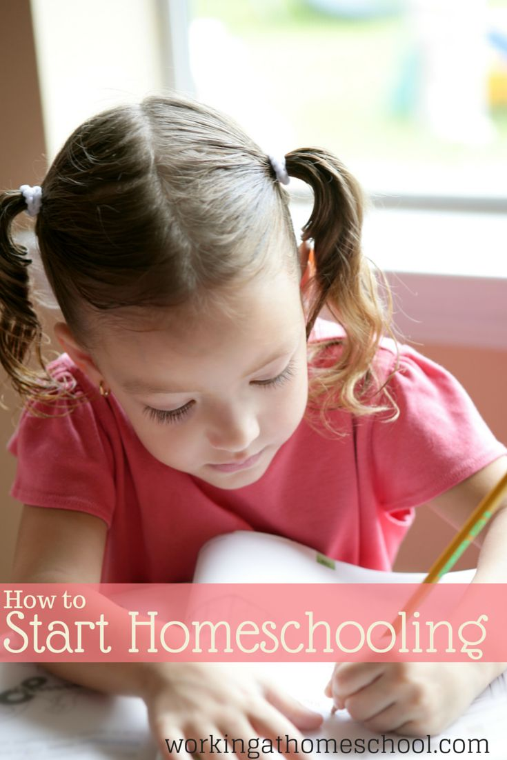 Great ideas to get started homeschooling!