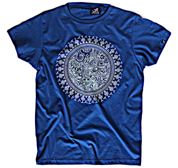 Mandala, KeepOnRunning t-shirt featuring T-house