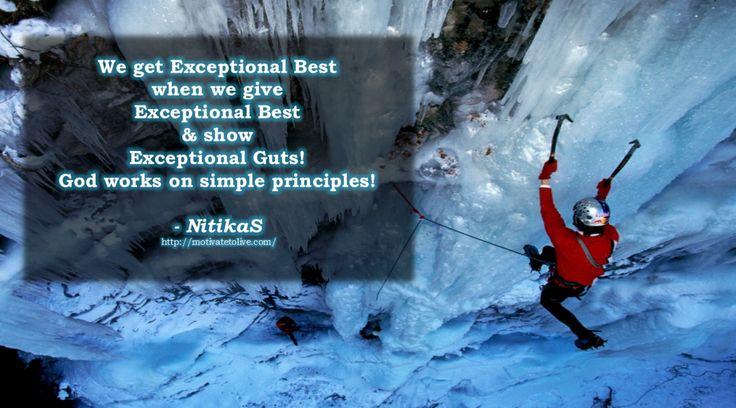 Exceptional Best NitikaS Quote - Motivatetolive blog