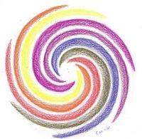 Kleur in de mandala, betekenis van kleur, kleuren, kleurenergie,