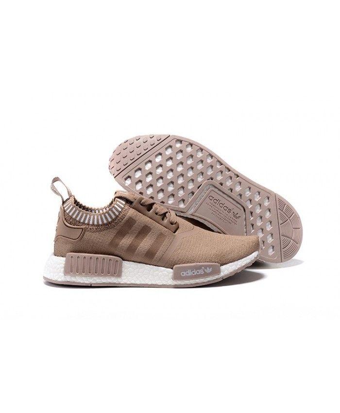 adidas khaki trainers. adidas originals nmd runner trainers in khaki white