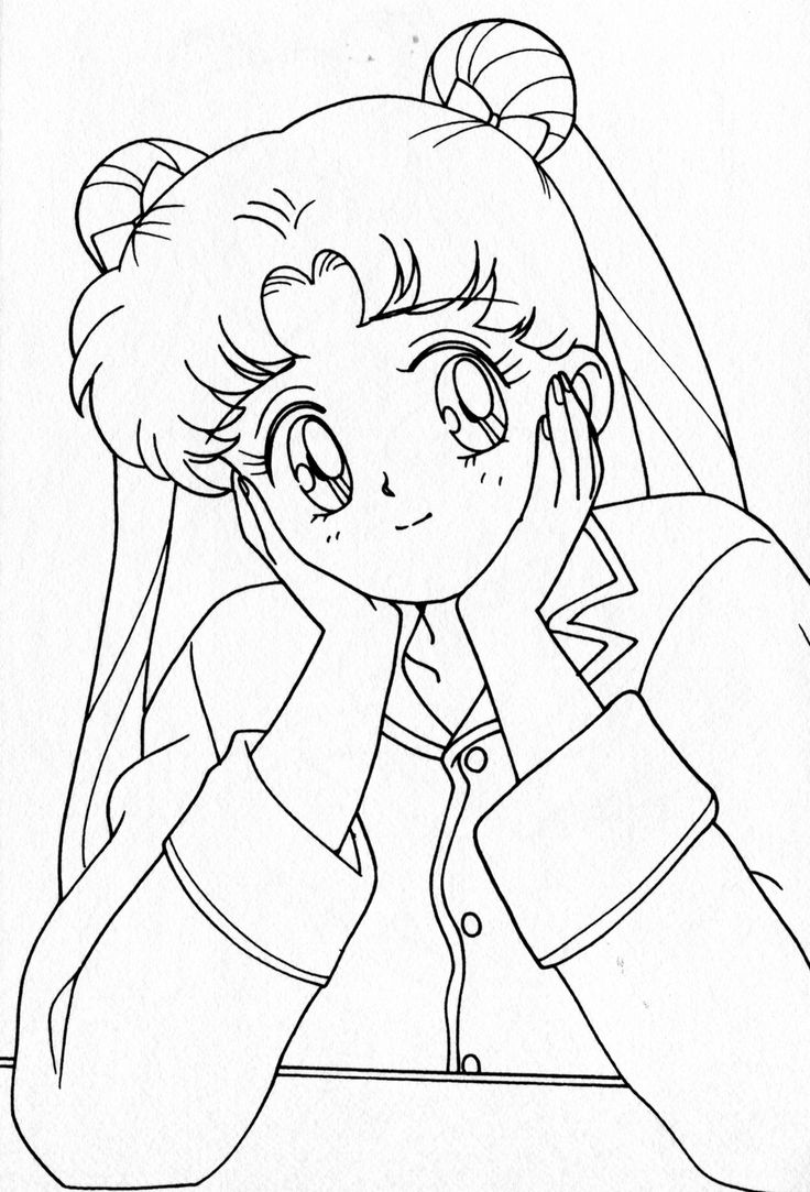 262 best images about Coloring Sailor Moon Sailor Scouts