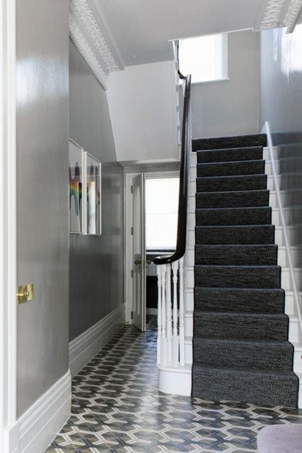 flur treppe. die passende lichtfarbe whlen. flur treppe contration ... - Flur Wandgestaltung Hardrock