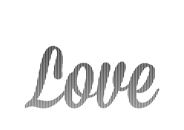 Book Folding Template Love