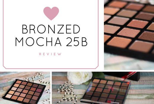 Morphe Bronzed Mocha 25b Lidschattenpalette  http://www.pinkysally.de/