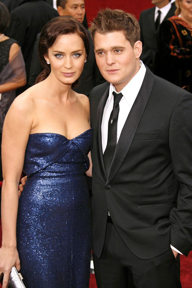 """Michael Bublé, Emily Blunt's Ex, Says He Was a """"Jerk"""" to Women He Dated: """"I Got My Karma"""" Emily Blunt, Michael Buble"""