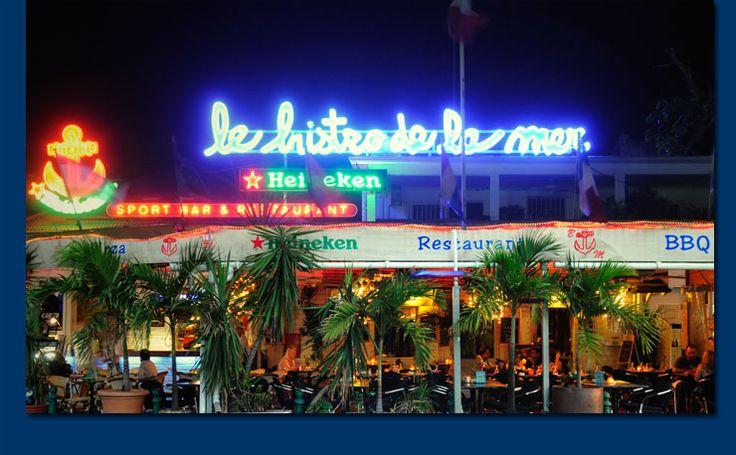 One of my favorite restaurants in the world! Le Bistro de la Mer in Marigot, Saint Martin.