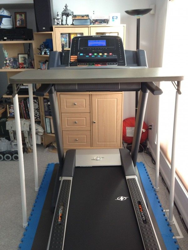 Treadmill_Desk-02 - this treadmill is the same model as mine. I'm so making this desk!