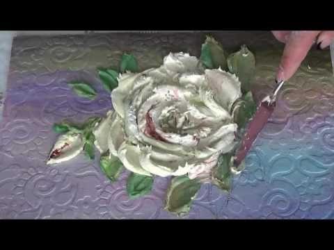 Очень меня увлекла тема объемная живопись, фрагмент видео по созданию картины. Листья розы. Истаграм https://www.instagram.com/vilisova_olya/ Приглашаю всех ...
