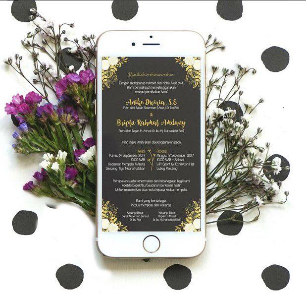 Mantap banget undangan perkawinan online