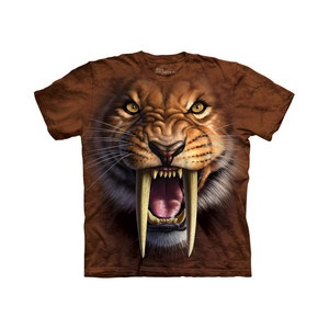 Sabertooth T-Shirt Adult now featured on Fab.