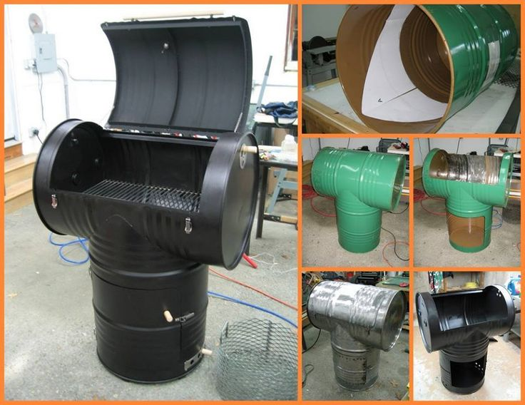 How to make DIY drum smoker, How to, how to do, diy instructions, crafts, do it yourself, diy website, art project ideas
