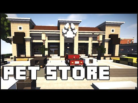 Minecraft - Pet Store - YouTube