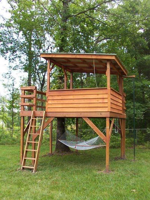 11 Best Kids Treehouse Ideas Images On Pinterest