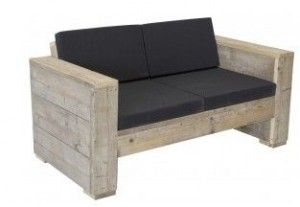 Met de gratis bouwtekeningen en instructies kun je deze loungebank zelf maken van steigerhout. Een houten loungeset bouwen, tuinbank voor twee personen.