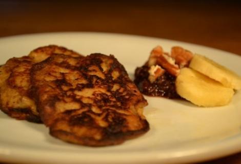 Fast Paleo » Chocolate Covered Banana Pancakes - Paleo Recipe Sharing Site