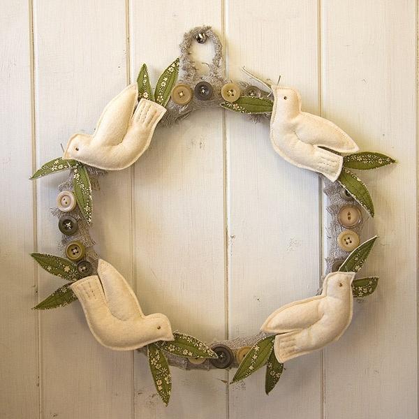 remembrance day wreath idea