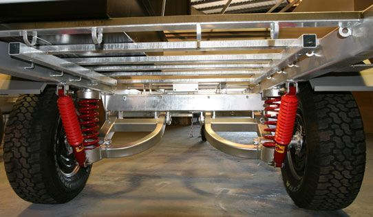 Truck Camper Plans Build Yourself: Off Road Trailer Suspension - Google Search