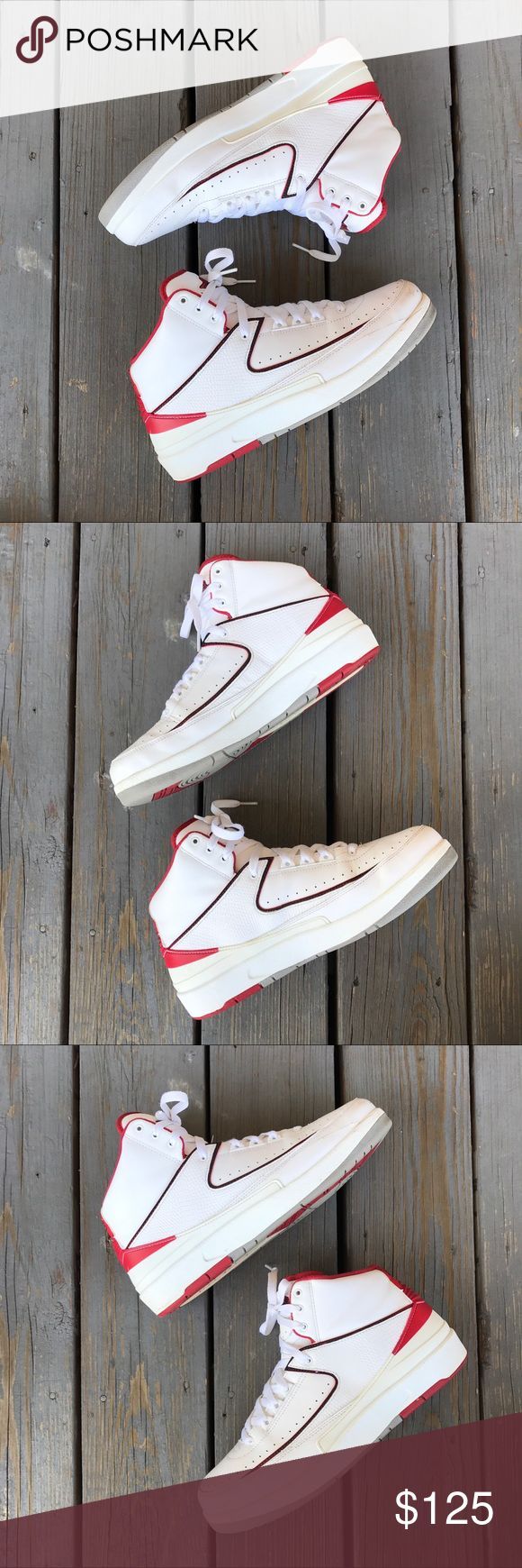 """JORDAN RETRO 2 """"COUNTDOWN PACK"""" *^ ZOOM IN ON PHOTOS FOR CLOSER LOOK **  PURCHASED: 2014  CONDITION: 7/10  ** NO BOX Jordan Shoes Sneakers"""