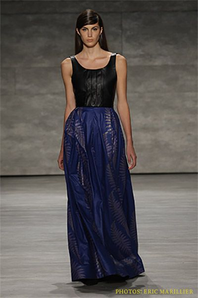 David Tlale New York Fashion Week Autumn Winter 2014