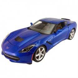 Maisto 2014 Corvette Stingray Coupe 1:24 Model Araba S/E Mavi