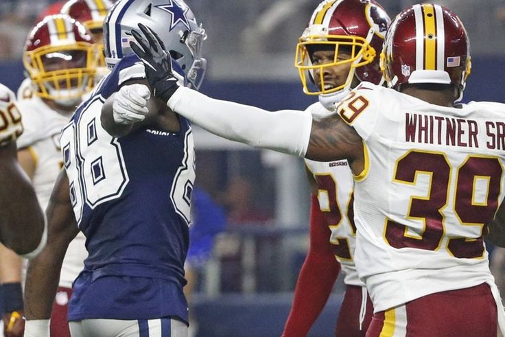 Redskins Josh Norman   Cowboys Dez Bryant Fight After Game