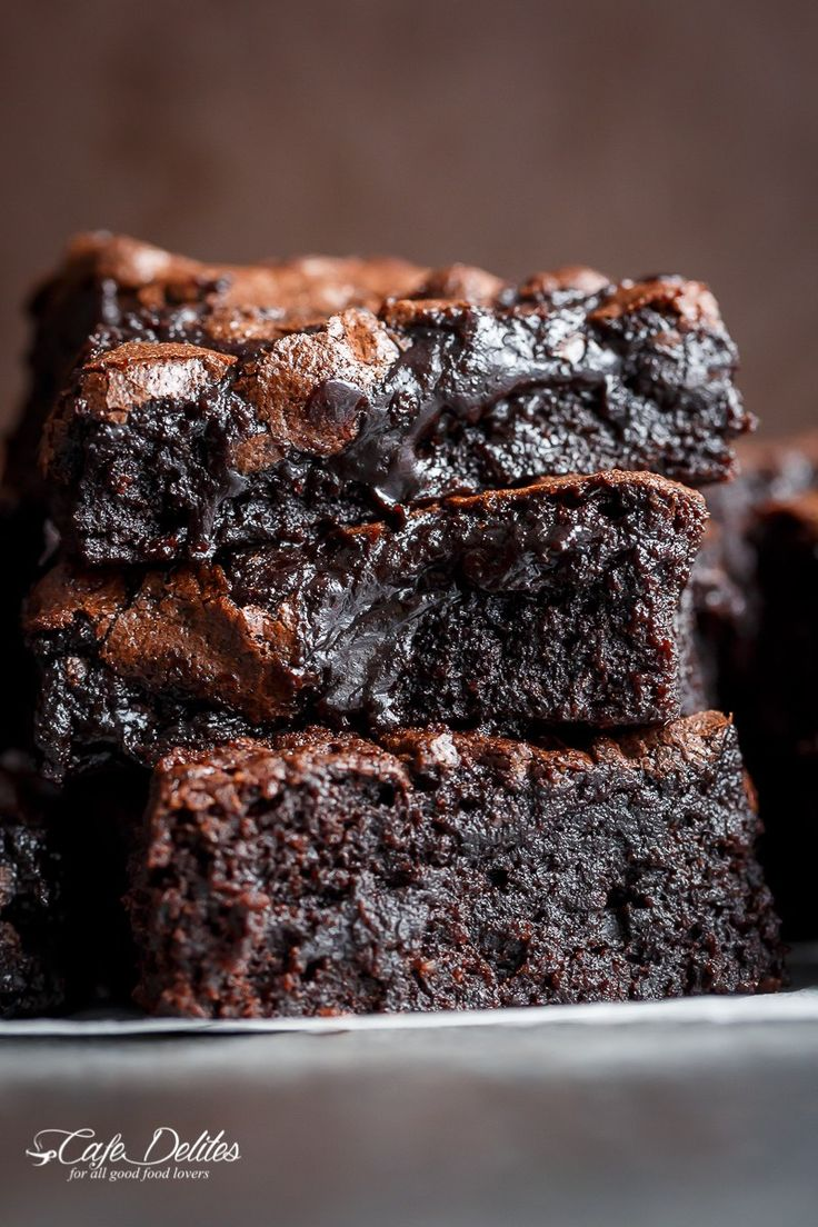 15 Best Ideas About Fudge Brownies On Pinterest