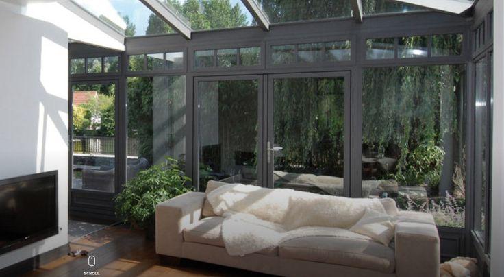 Een serre geeft niet alleen meer ruimte maar ook meer licht in je huis.