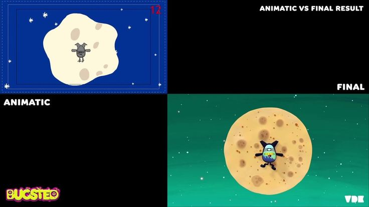 BUGSTED. ANIMATIC VS FINAL ANIMATION on Vimeo