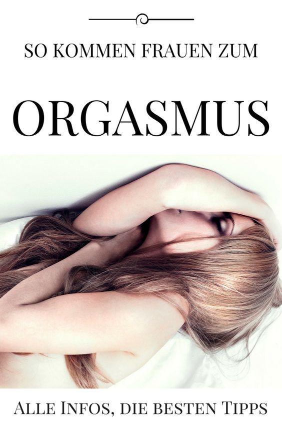 Der aufregendste Orgasmus wirkt für Frauen