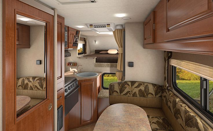 Lance 865 Truck Camper - With a layout similar to its larger siblings - you'll enjoy the spacious feel of this short bed truck camper.