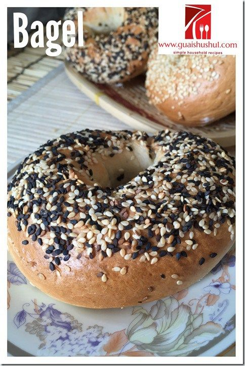 Basic Bagel Recipe (贝果)    #guaishushu #kenneth_goh    #bagel