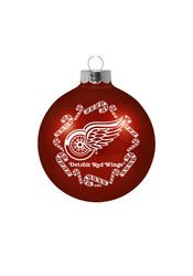 Detroit Red Wings Traditional Glass Ball Ornament