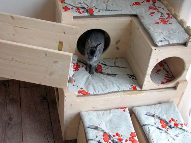 Gehege-Beispielfotos - Kaninchenwiese - Kaninchenratgeber zur Haltung & Ernährung