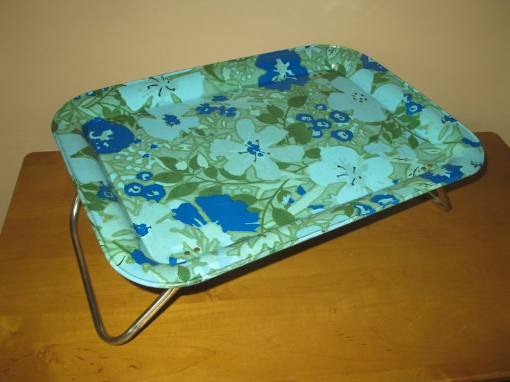 Portable Flower Beds : Best images about vintage tv trays on pinterest daisy